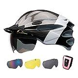 SUNRIMOON Adult Bike Helmet Men Women - Adjustable Size...