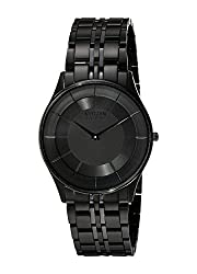 Citizen Men's AR3015-53E Eco-Drive Stiletto Black Ion-Plated Watch - see my reviews