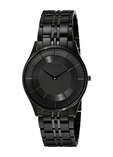 Citizen Men's AR3015-53E Eco-Drive Stiletto Black Dress Watch