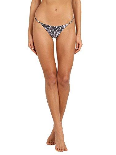 ISSA DE MAR Bondi Bikini Bottom Aqua Noir