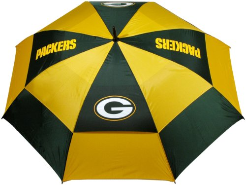 Why Should You Buy Team Golf NFL 62 Golf Umbrella with Protective Sheath, Double Canopy Wind Protec...