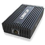 LINKUP - 10G Plus Thunderbolt 3 to 10 ギガビット RJ45 LANアダプター0.5mケーブル10Gbs 10Gbe AQtion AQC107チップセットMacBook Pro Air Mini 2021 M1 Dell XPS HP Lenovo Laptops (TB3/TB4/USB4.0)と互換性あり
