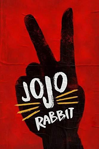 baodanla Películas de Guerra de Comedia alemanas y Americanas (Jojo Rabbit) Pintura de Lienzo decoración de hogar Película caliente50x75cm(Sin Marco)