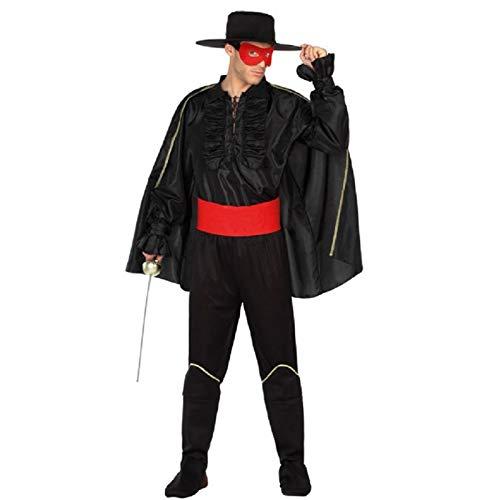 Atosa Déguisement Homme Zorro