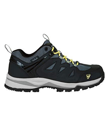 ICEPEAK Herren Trekking Outdoor Schuhe Wanderschuhe Akure MR Waterproof 3-78 206 100, Farbe:Schwarz, Schuhgröße:EUR 41, Artikel:-990 Black
