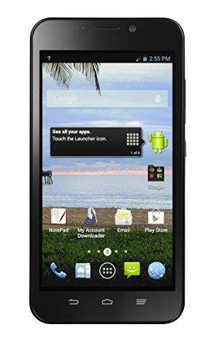 TracFone ZTE Quartz 4G LTE Prepaid Smartphone