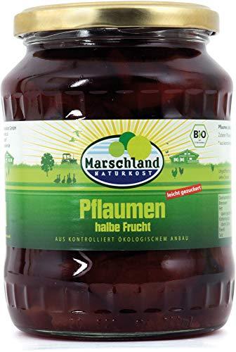 Marschland Pflaumen im Glas (720 ml) - Bio