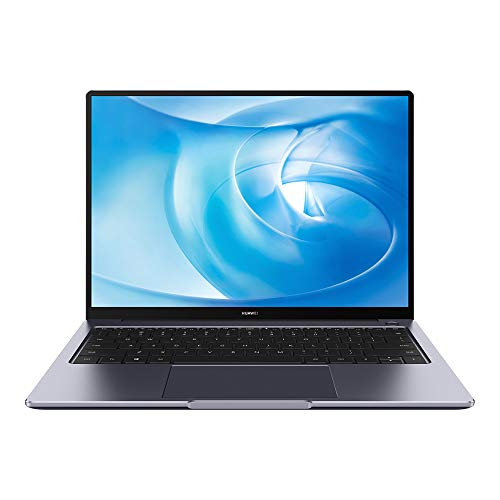 HUAWEI MateBook 14 2020 ، شاشة كمبيوتر محمول FullView 2K مقاس 14 بوصة ، Intel Core i5-10210U ، NVIDIA GeForce MX350 ، Huawei Share Multi-screen Collaboration ، 8GB RAM ، 512GB SSD ، Windows 10 Home ، رمادي