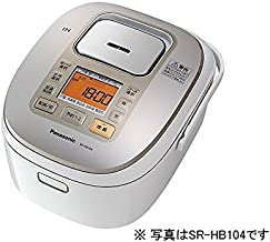 Panasonic 1 bushel rice cooker IH-type white SR-HB184-W