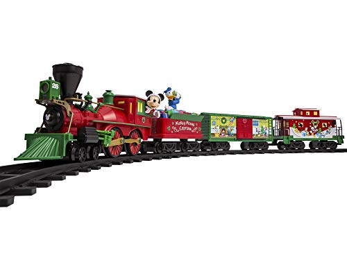 Lionel Disney Mickey Mouse Express Ready-to-Play Set, Battery-powered Model Train with Remote