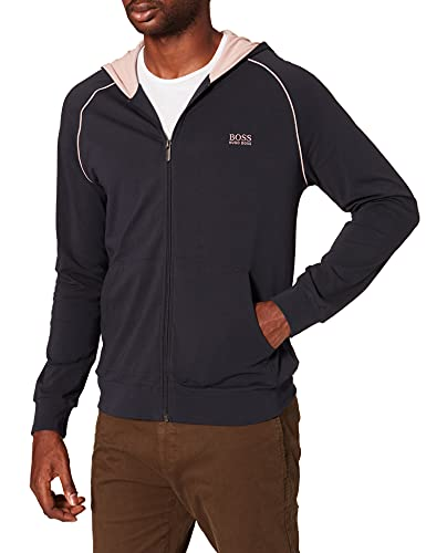 BOSS Herren Mix&Match Jacket H Kapuzenpullover, Navy413, L