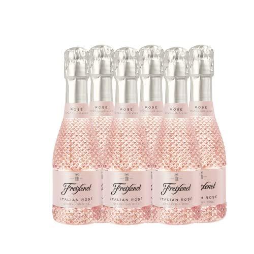 Mini Italian Rosé - Botellin de 200 ml - Pack de 6 botellas - 1200 ml