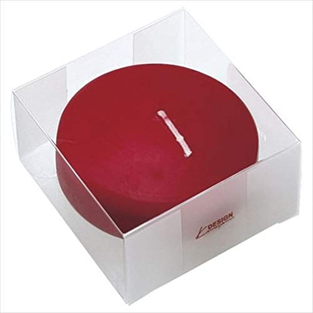 プロジェクターペルメル溶岩カメヤマキャンドル(kameyama candle) プール80 (箱入り) 「 ワインレッド 」 キャンドル 6個セット