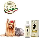 Shampoo + Balsamo Naturale e Vegetale - Delicato e Profumato - per Cani dal Pelo Lungo, Linea 101, 250ml