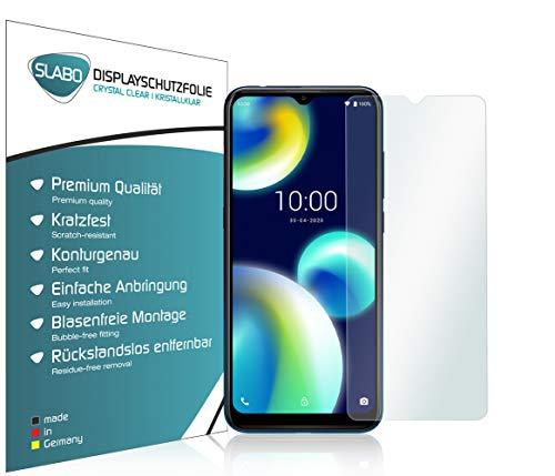 Slabo 4 x Bildschirmschutzfolie für Wiko View4 Lite Bildschirmfolie Schutzfolie Folie Zubehör Crystal Clear KLAR