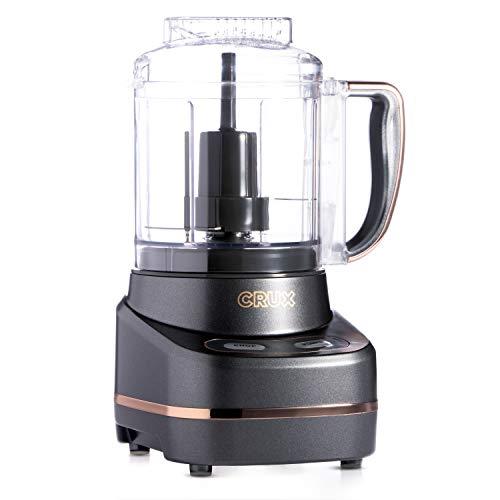 CRUX 3-Cup Mini Chopper Food Processor, Dishwasher Safe Parts
