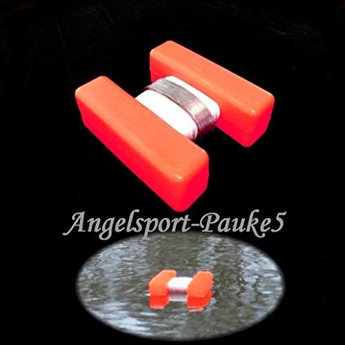 Expert Anglers H-Bojen, Markierung für Futterplatz usw. Marker Leuchtfarbe- Rot/Klein