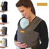 Kleiner Held Baby Tragetuch - hochwertiges elastisches Tragetuch - Babytrage