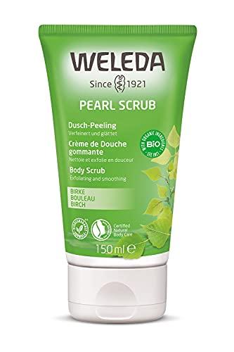 WELEDA(ヴェレダ)ホワイトバーチピーリングボディウォッシュ150mL角質ケアボディ用洗浄料ボディスクラブグレープフルーツの香り天然由来成分オーガニックボディソープ