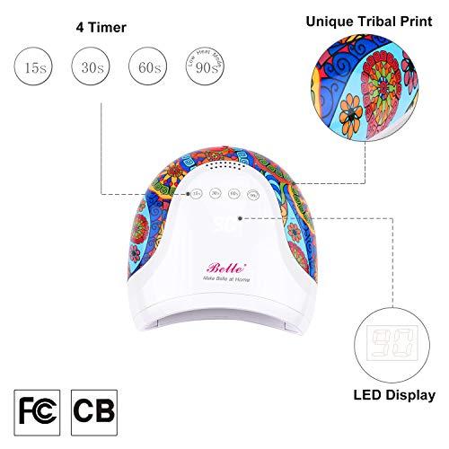Belle 48W UV LED Nail Lamp