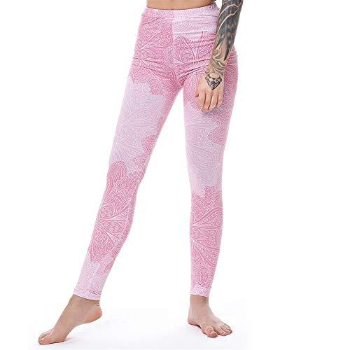 MJTCJY Einhorn-Gamaschen-Frauen Leggins Fitness Legging Reizvolle Hosen Mit Hoher Taille Push Up Glänzende 3D Printed Rainbow Star Cat...