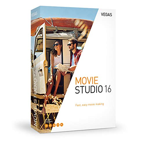 VEGAS Movie Studio|16|1 Device|Perpetual License|PC|Disc|Disc