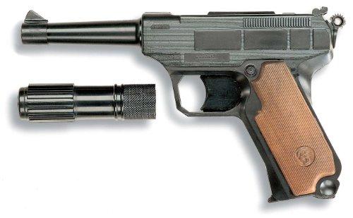 Pistola in plastica Con silenziatore Età: dai 3 anni