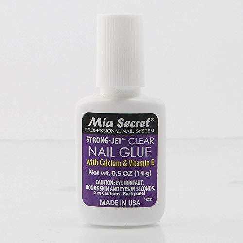 Mia Secret Nail Glue with Calcium & Vitamin E - Brush On #335