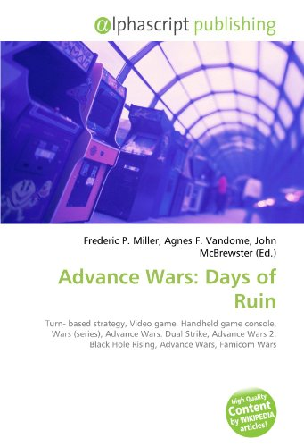 Advance Wars: Days of Ruin: Turn- based strategy, Video game, Handheld game console, Wars (series), Advance Wars: Dual Strike, Advance Wars 2: Black Hole Rising, Advance Wars, Famicom Wars