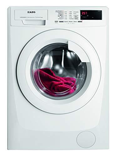 AEG-Electrolux LAVAMAT L68480FL Waschmaschine FL/A+++ / 190 kWh/Jahr / 1400 UpM / 8 kg / 9999 L/Jahr/XXL-Türöffnung/Einfache Bedienung/weiß