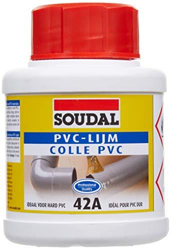 Soudal Colle pour pvc rigide avec pinceau 250 ml 42A