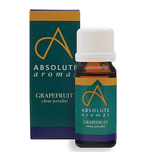 Absolute Aromas Grapefruit (citrus paradisi) Essential Oil 10ml - Pure, Natural, Undiluted, Cruelty Free and Vegan – for Aromatherapy, Diffusers, Candle Making and DIY Beauty Recipes