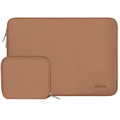 Simplicity Laptop Sleeve For Macbook Dell Hp Asus Acer Lenovo 11 12 13.3 14 15 Inch Laptop Bag Case For MacPro 13 15 Notebook Bags (Color : Brown, Size : 13-13.3 inch)