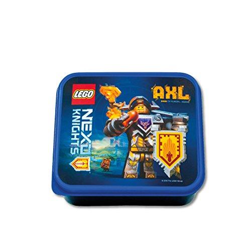 Légo 40501734 Nexo Knights-Caja de desayuno cm, plástico, color azul