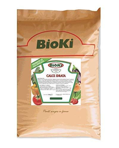 Bioki Calce Idrata Naturale per Agricoltura Bio