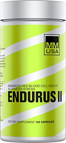 MMUSA ENDURUS II VO2 Maximizer Formula, 60 Day Premium Supply,120 Count