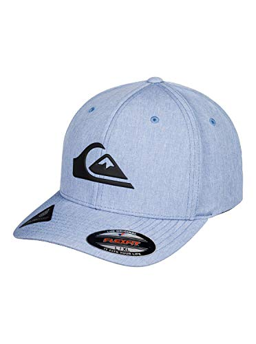 Quiksilver Mens Amped UP HAT, Stone Wash Heather, L/XL