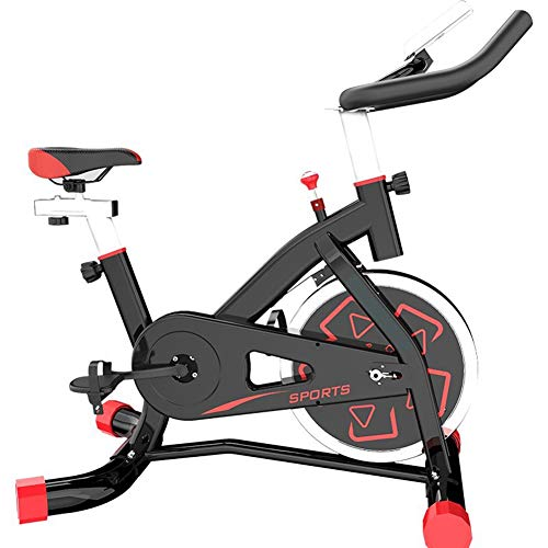 Allenamento Spin Bike Cyclette, Home Trainer Connessione Cellulare App Allenamento Spin Bike Cyclette Trainer Bici da Fitness,Nero