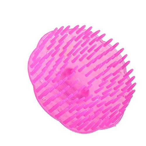 Diaod 1pc Plastic Shampoo and Shoening Pein Fassager Female peing Scalp Shampoo Brush Pink Unisex