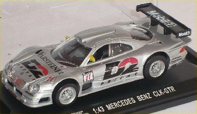 Mercedes-Benz Clk-gtr Clk Gtr 24 H Le Mans Silber Nr 11 1/43 High Speed Modellauto Modell Auto