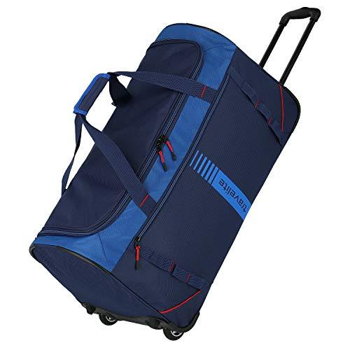 Travelite Basics Active Rollenreisetasche 70 cm Marine/red