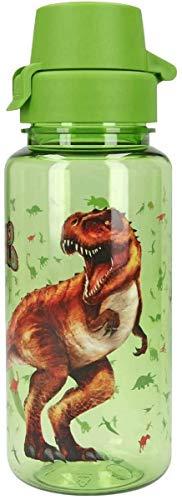 Depesche 7824 Dino World - Botella de plástico sin BPA ni ftalatos, 400 ml