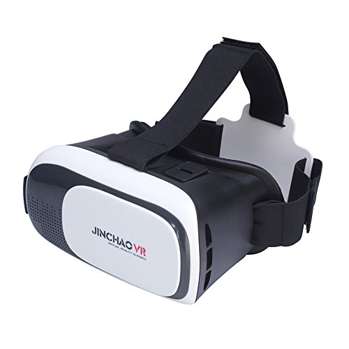 JINCHAO 3D VR Brille VR Box Headset Brillen Virtual Reality Handy 3D-Filme für iPhone 6s/6 plus Samsung Galaxy s5/s6/note4/note5 und andere 4.7