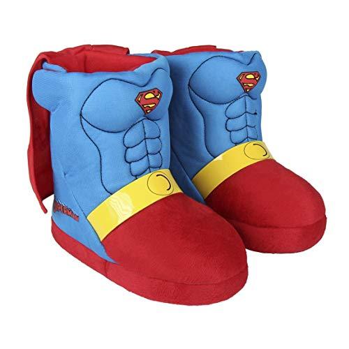 Cerdá Zapatillas De Casa Bota Superman, Azul (Azul C03), 29/30 EU