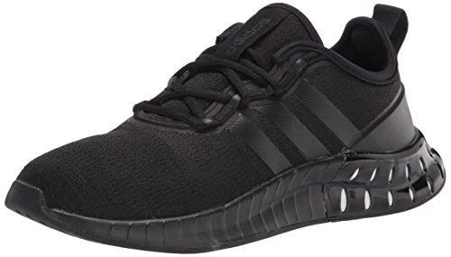 adidas Women's Kaptir Super Running Shoe, Black/Black/White, 6.5
