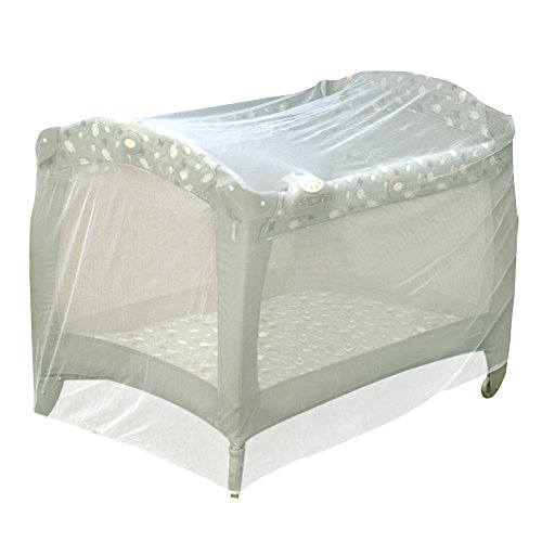 Jeep Universal Size Pack N Play Mosquito Net Tent, White