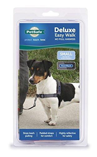 PetSafe Deluxe Easy Walk Harness, Small, Steel Gray, EWH-D-HC-S-STL