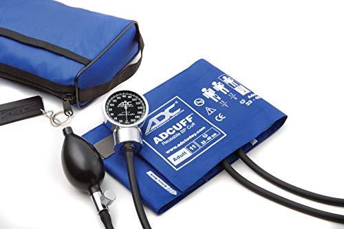 ADC Diagnostix 778-11ARB Blutdruckmessgerät mit Manschette für Erwachsene (Umfang 23-40cm), Königsblau