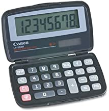 CANON Wide Format 4009A006AA LS555H Handheld Foldable Pocket Calculator, 8-Digit LCD