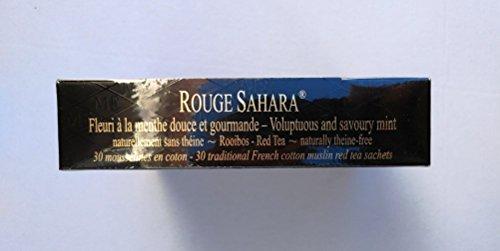 Inconnu Mariage Frères - Rouge Sahara - Boîte de 30 sachets Mousseline de thé